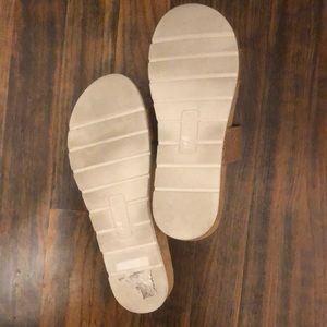 White Mountain Shoes - Faux snakeskin sandals